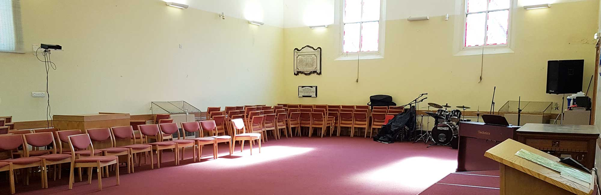 Image of the chapel at St Peter's Baptist Church
